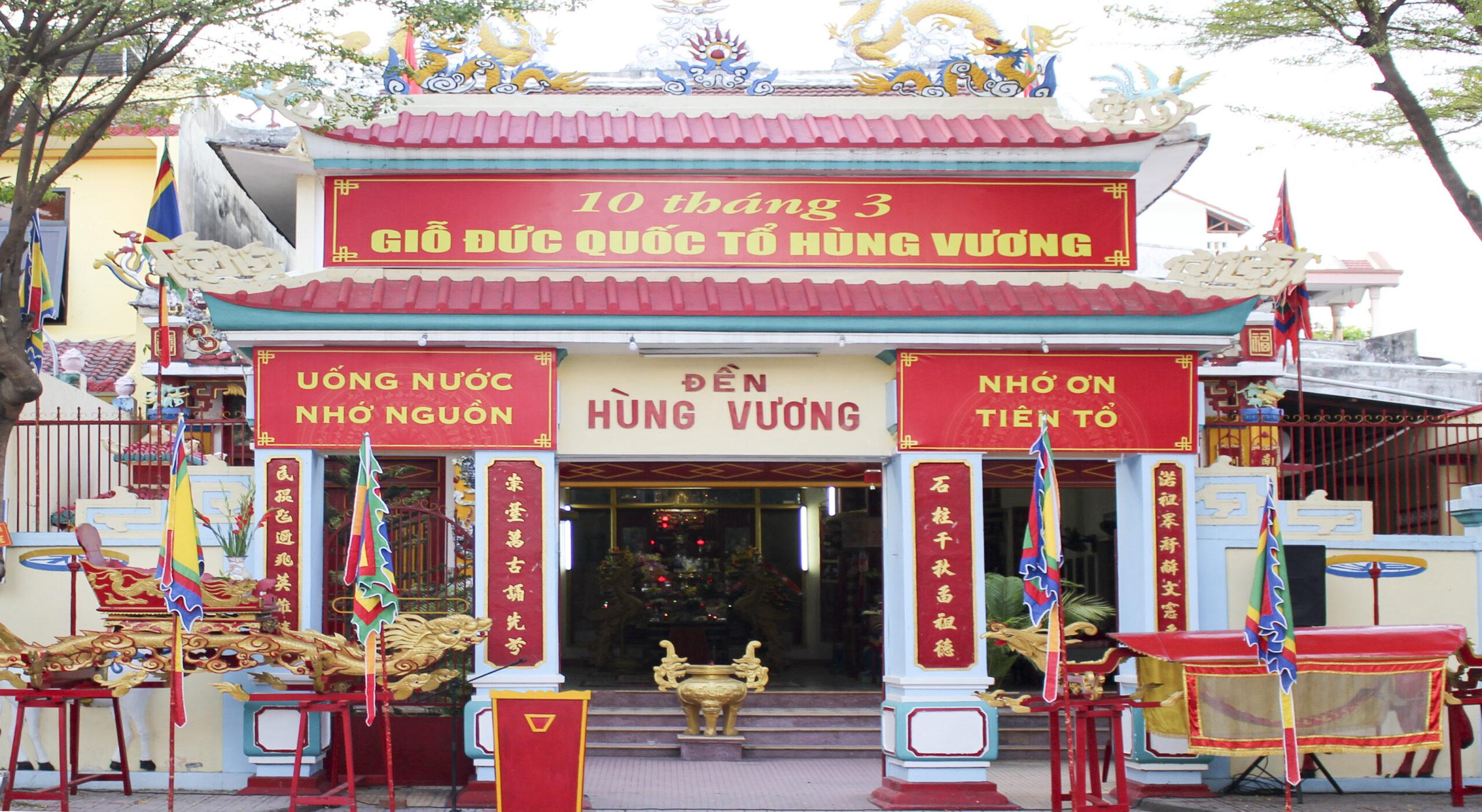 Lễ giỗ tổ Hùng Vương Khánh Hòa