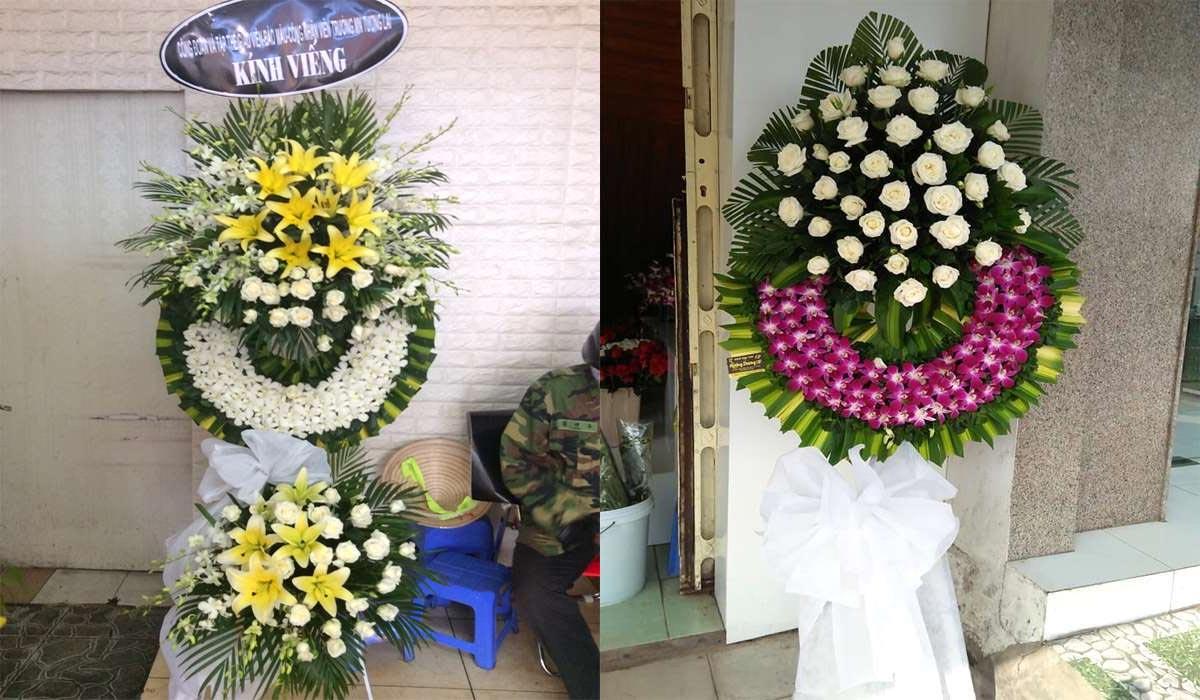 hoa cúc cho đám tang