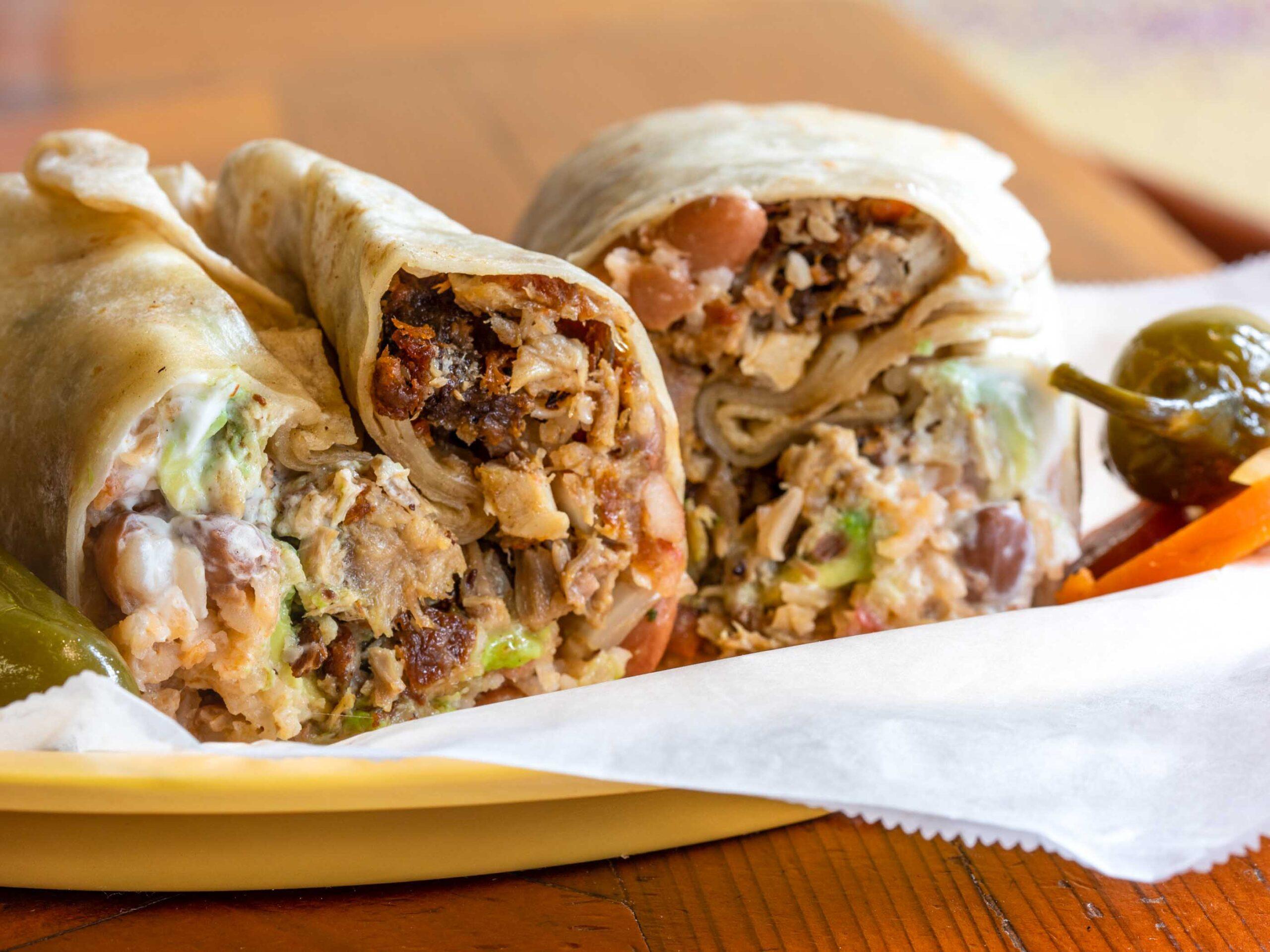 Bánh Burritos - Công thức sáng tạo để phù hợp với du khách