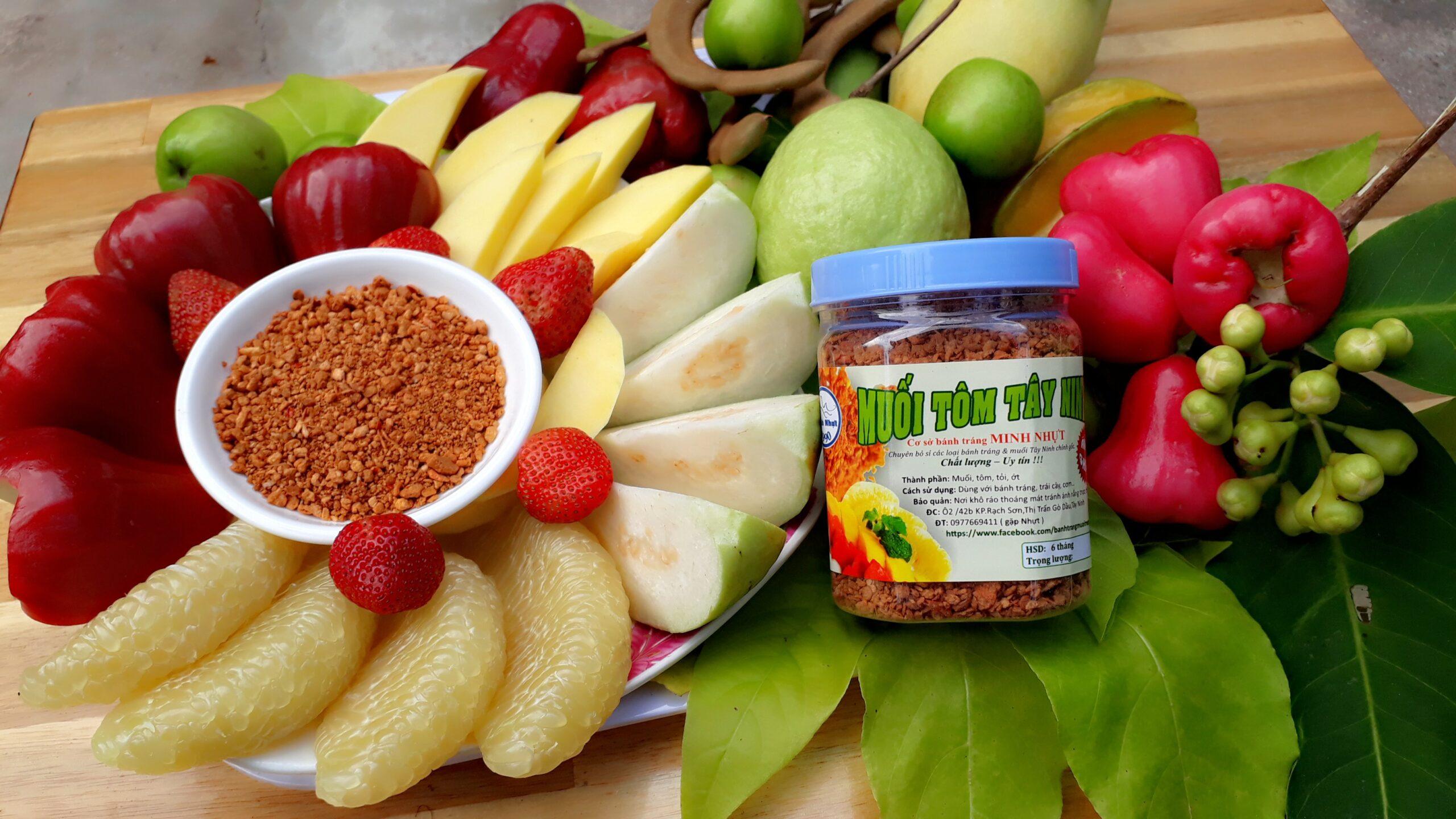 Muối tôm Tây Ninh - Món ăn thêm đậm đà, chính hiệu