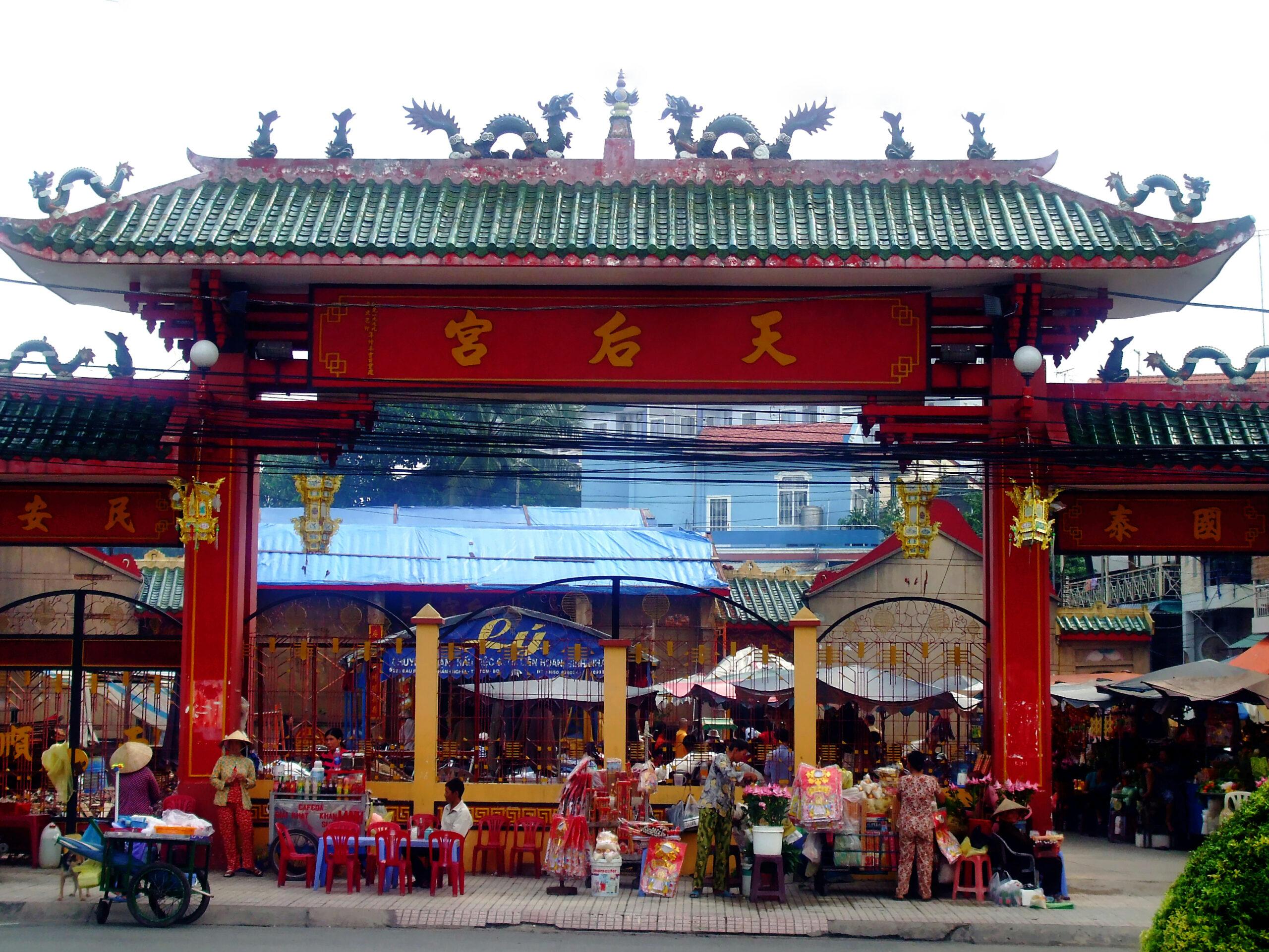 Lễ hội chùa Bà Thiên Hậu tại Thủ Dầu