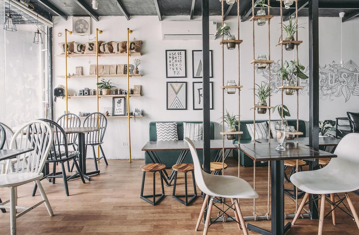 Các quán cafe ở Đồng Hới có kiến trúc khá đa dạng, độc đáo và thu hút