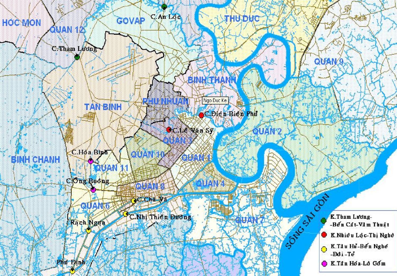 Hệ thống sông rạch SÀI GÒN